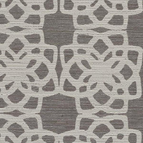 Designtex Lattice Cotton Durable Gray Upholstery Fabric