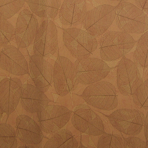Upholstery Leafette Gold Earth Toto Fabrics Online