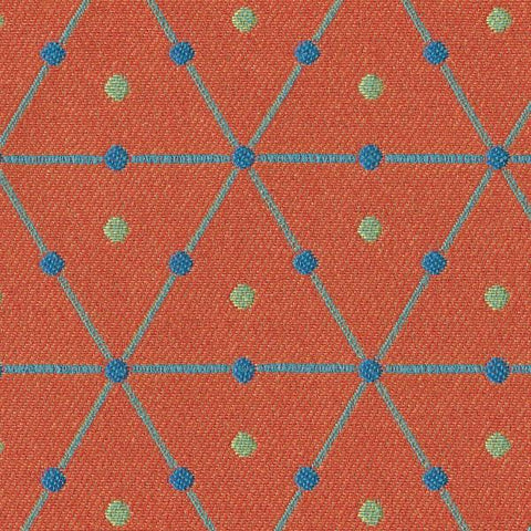 Guilford of Maine Upholstery Fabric Geometric Limelight Clementine Toto Fabrics