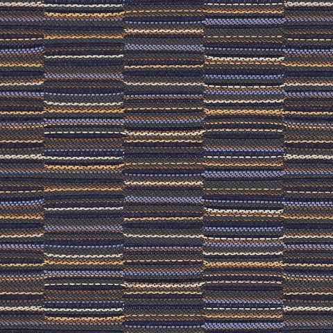 Upholstery Fabric Staggered Stripe Line Up Baltic Toto Fabrics