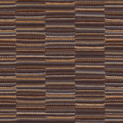 Momentum Upholstery Fabric Brown Stripe Line Up Shadow Toto Fabrics