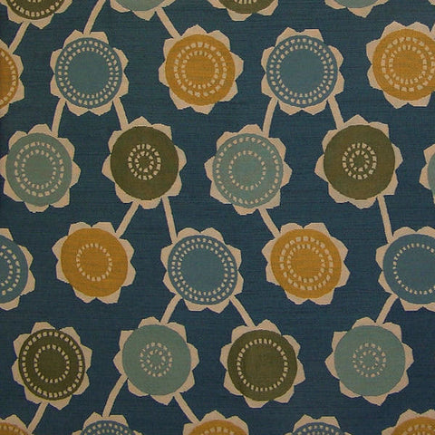 Remnant of Momentum Textiles Livia Zephyr Blue Upholstery Fabric
