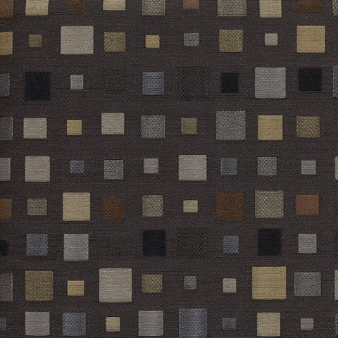 Unika Vaev Look Twice Slate Wool Blend Gray Upholstery Fabric