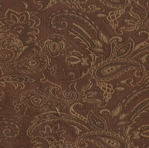 Swavelle Mill Creek Upholstery Fabric Paisley Design March Chestnut Toto Fabrics