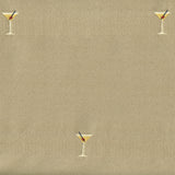 Upholstery Fabric Novelty Satin Weave Martini Seabreeze Toto Fabrics