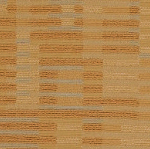 Maze Sunflower Textured Stripe Upholstery Fabric