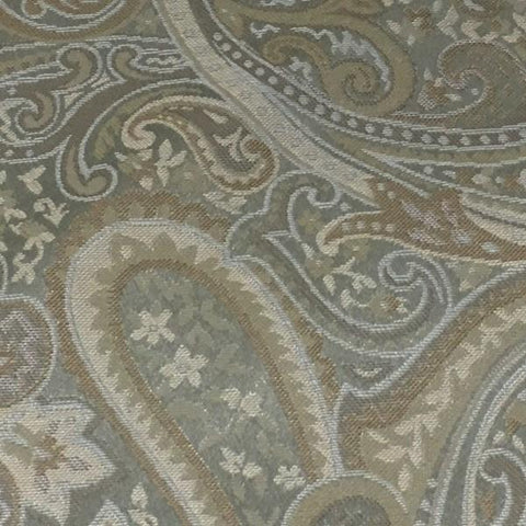 Swavelle Mill Creek Upholstery Fabric Paisley Meno Turquoise Toto Fabrics
