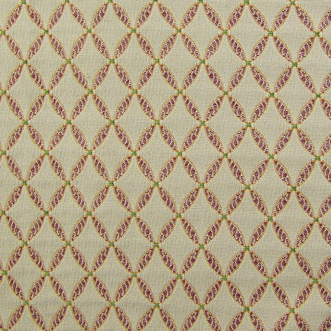 Upholstery Fabric Tissue Pick Lattice Monroe Diamond Violet Toto Fabrics