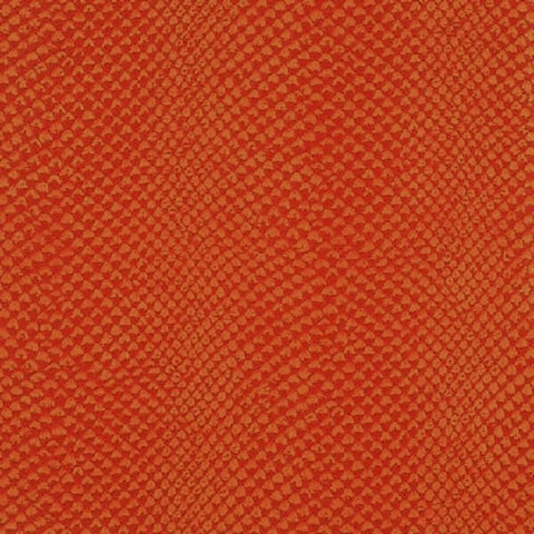 Wolf-Gordon Upholstery Fabric Remnant Morningside Tangerine