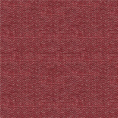 Architex Mount Mckinley Crimson Chenille Red Upholstery Fabric