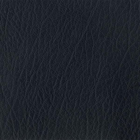 Paul Brayton Natural Almost Panther Faux Leather Black Upholstery Fabric