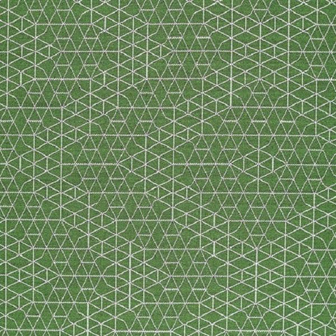 Designtex Net Topariary Green Upholstery Fabric 3869 501