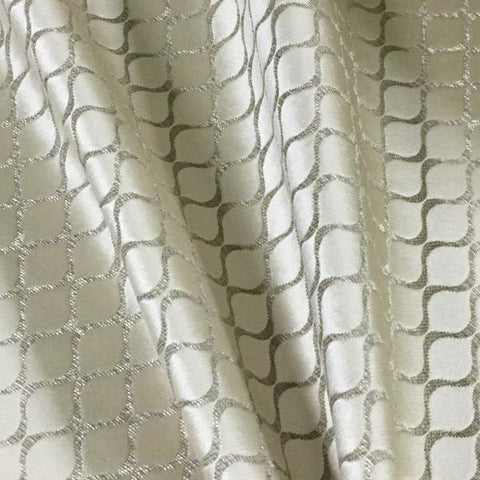 Swavelle Mill Creek Nobhill Ivory Upholstery Fabric