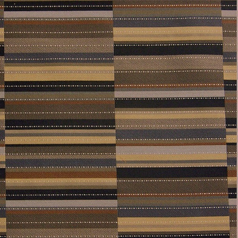 Maharam Upholstery Fabric Durable Stripe Rectangle  Offset Fieldstone Toto Fabrics