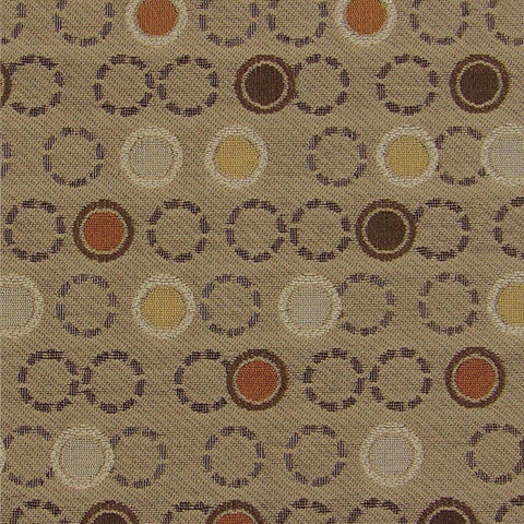 Upholstery Fabric Taupe Circles And Rings Ohs Smolder Toto Fabrics