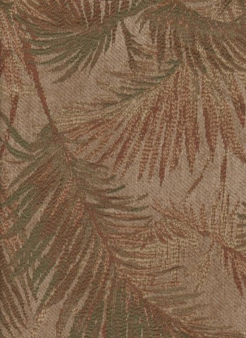 Upholstery Fabric Palm Leaves Paradise Bronze Toto Fabrics