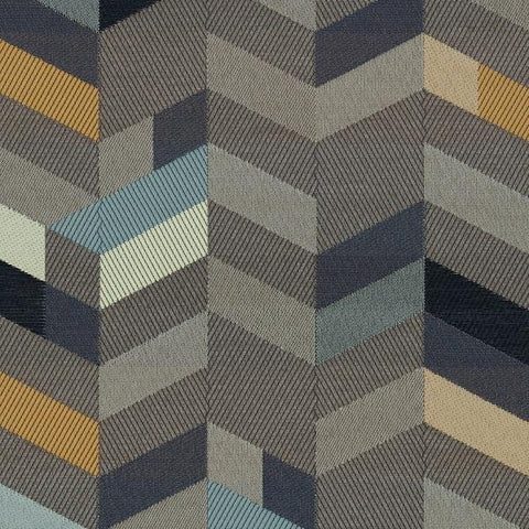 Maharam Parquet Branch Gray Upholstery Fabric 466341 006