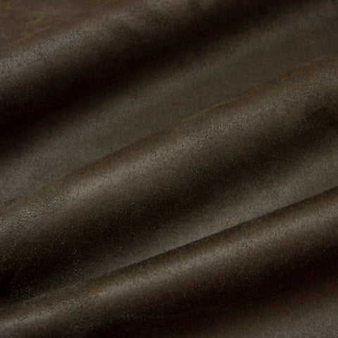 Upholstery Fabric Solid Microsuede Passion Suede Espresso Toto Fabrics