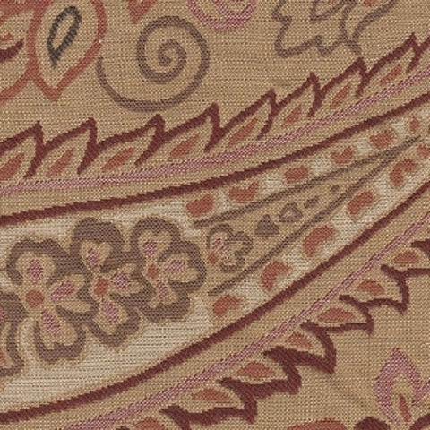Upholstery Fabric Large Paisley Design Passion Valley Toto Fabrics