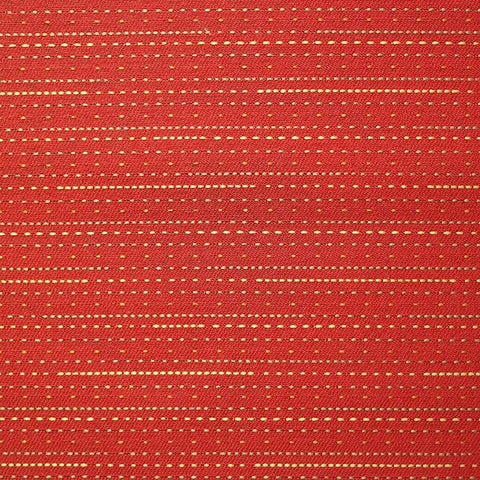 Maharam Pick Pepper Stripe Red Upholstery Fabric