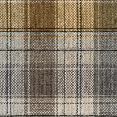 Designtex Plaid Goldfinch Brown Upholstery Fabric 3872-201 Toto Fabrics Online