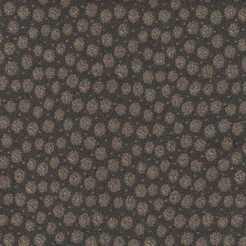 Valdese Weavers Upholstery Fabric Two-Toned Polka  Granite