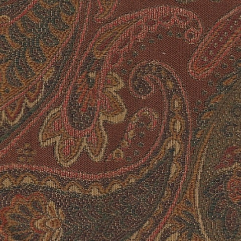 Swavelle Mill Creek Upholstery Fabric Paisley Design Prima Cocoa Toto Fabrics