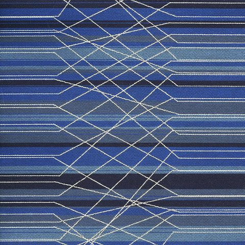 Paul Brayton Designs Upholstery Fabric High End Stripe Prizm Pipeline Toto Fabrics