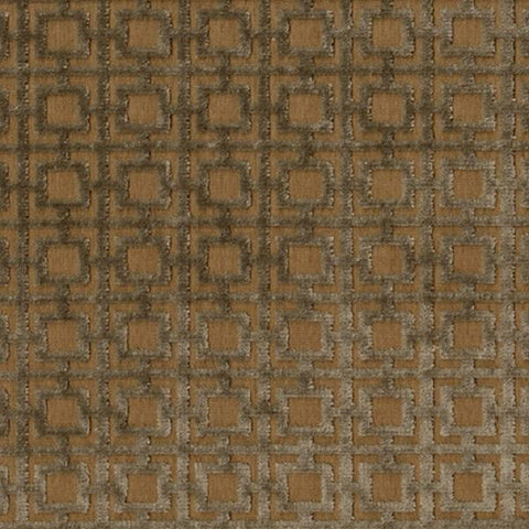 Brentano Quadro Miracoli Raised Velvet Gray Upholstery Fabric
