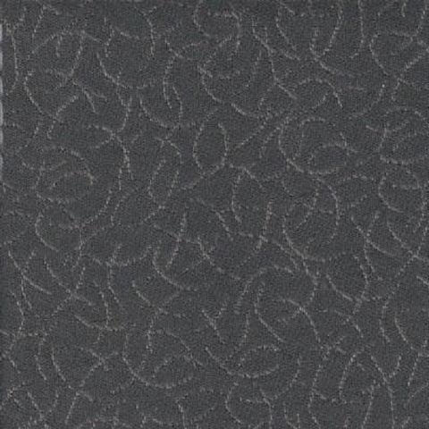 Rain Cloud Graphite Two-Toned Gray Wool Upholstery Fabric
