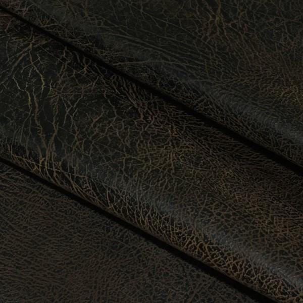 Richloom Upholstery Fabric Faux Leather Ranger Chocolate Toto Fabrics