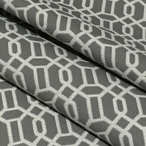 Swavelle Mill Creek Upholstery Fabric Modern Design Relish Platinum Toto Fabrics