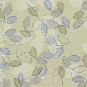 Maharam Reverie Greenhouse Colorful Foliage Green Upholstery Vinyl