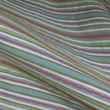Swavelle Mill Creek Rezaz Fresh Stripe Green Upholstery Fabric