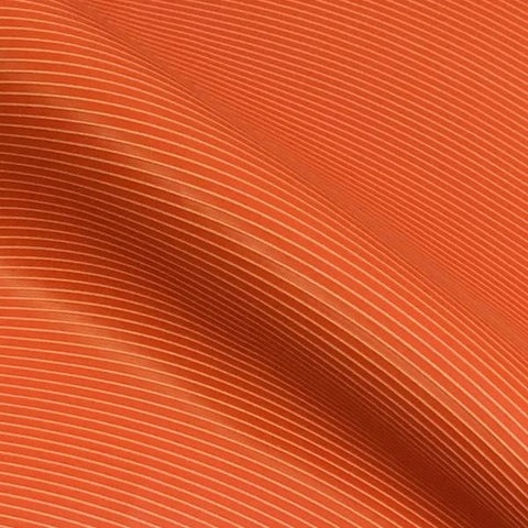 Maharam Rise Electric Ribbed Orange Upholstery Vinyl