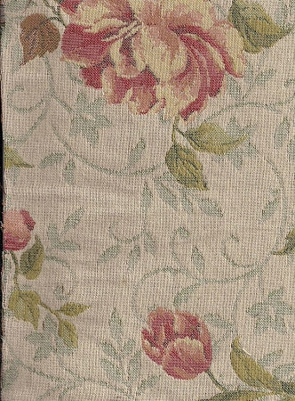 Upholstery Fabric Floral Pattern Romantic Episode Spring Toto Fabrics