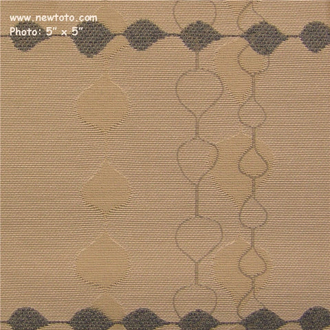 Pallas Textiles Upholstery Running Stitch Ecru Toto Fabrics Online