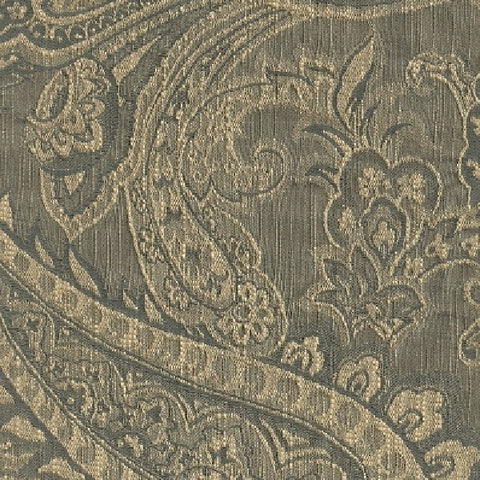 Swavelle Mill Creek Upholstery Fabric Paisley Design Sacre Cue New Blue Toto Fabrics