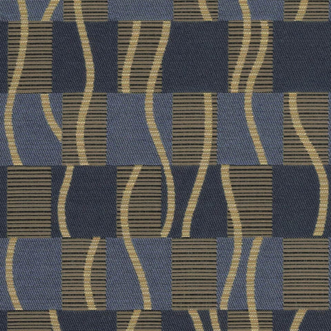 Arc-Com Upholstery Fabric Remnant Samba Blueberry