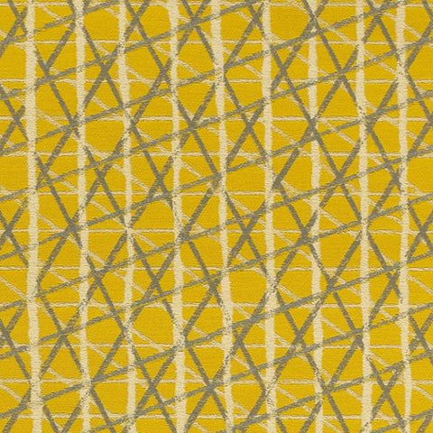Momentum Textiles Upholstery Fabric Criss Cross Design Sketching Air Lemon Toto Fabrics