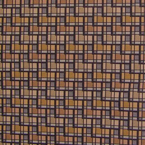 Upholstery Fabric Durable Geometric Skyline Brownstone Toto Fabrics
