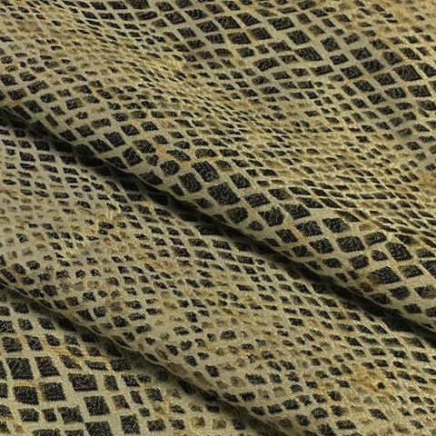Swavelle Mill Creek Upholstery Fabric Snakeskin Slither Python Toto Fabrics