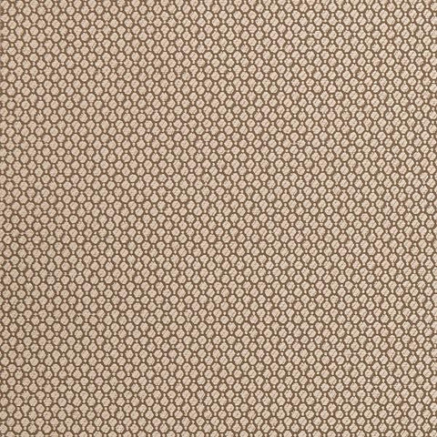 Remnant of Clarke & Clarke Stella Taupe Chenille Upholstery Fabric