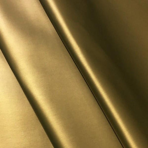 Maharam Sudden Glamour High Sheen Solid Gold Upholstery Fabric