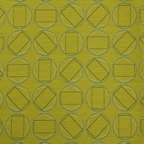 CF Stinson Upholstery Fabric Colorful Geometric Swivel Absinthe Toto Fabrics