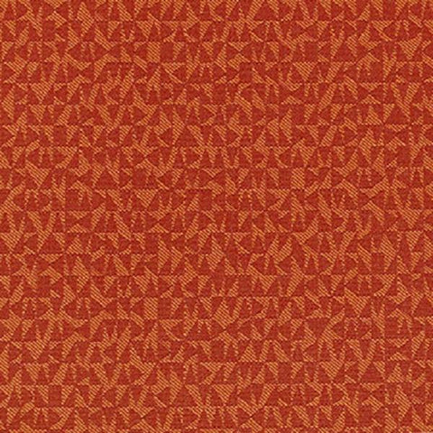 Momentum Syntax Flare Tone On Tone Orange Upholstery Fabric