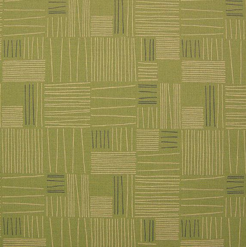 Arc-Com Tally Kiwi Geometric Green Upholstery Vinyl