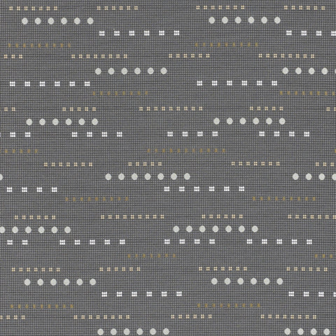 Momentum Upholstery Fabric Durable Textured Stripe Tesla Nickel Toto Fabrics