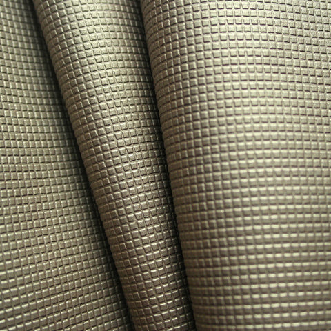Tetra Pumice Textured Polyurethane Brown Upholstery Fabric