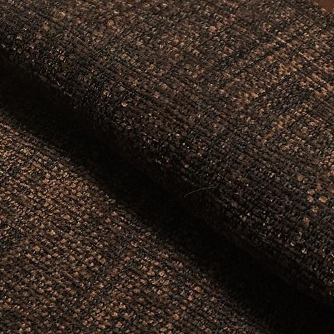 Swavelle Mill Creek Textura Chocolate Chenille Brown Upholstery Fabric